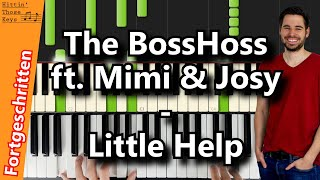 The BossHoss Ft. Mimi & Josy   Little Help (Chorus) | Piano Tutorial | German