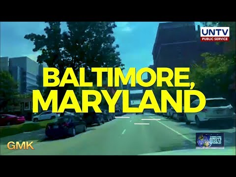 [UNTV]  OFW shows historical sites and Filipino restaurant in Baltimore