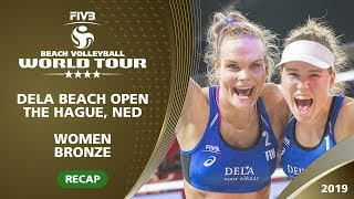 The Hague 4-Star 2019 - Women Bronze - FIN vs. USA - Recap