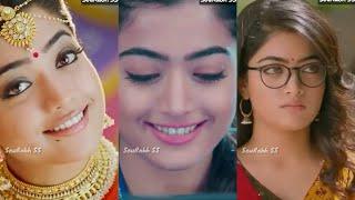 Geetha Govindam BGM Ringtone Music| Rashmika Mandanna Cute Whatsapp status|Smile Expression|Backgrnd