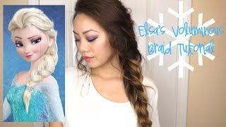FROZEN: Elsa's Voluminous Braid Tutorial ♡ Karina Lynn Kho
