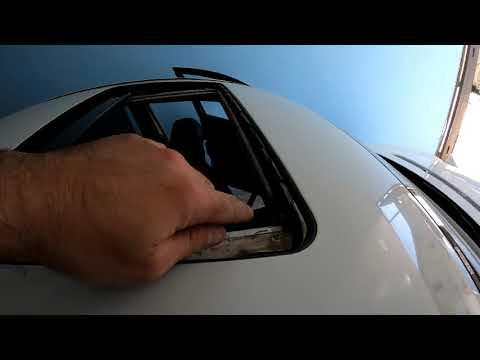 MB W211.Разборка потолка.Подробное видео.