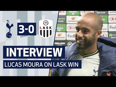 INTERVIEW | LUCAS MOURA ON GOAL IN 3-0 LASK WIN | Spurs 3-0 LASK