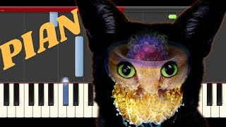 Galantis & Yellow Claw We Can Get High Piano Cover Midi Tutorial Sheet App  Karaoke