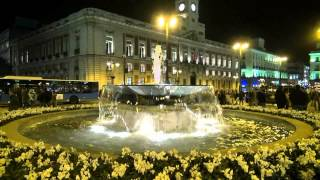 preview picture of video 'PUERTA DEL SOL, MADRID'
