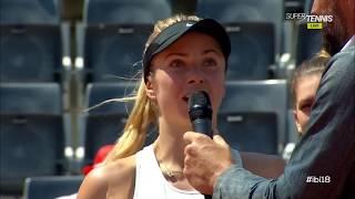 Svitolina Beats Halep Tennis Finals Rome 2018 Speech