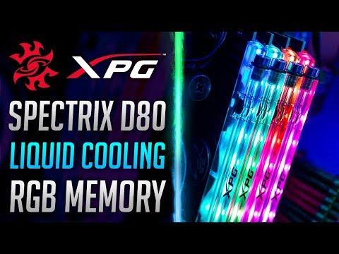 ADATA XPG SPECTRIX D80 DDR4 RGB Liquid Cooled Memory – Review