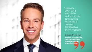 Vidéo : D'excellents résultats pour les fonds propres d'Investissement Québec
