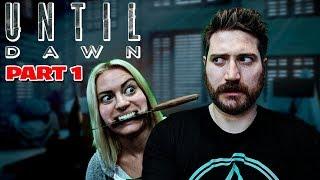 Until Dawn Part 1 - Funhaus Gameplay
