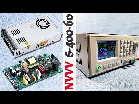 Импульсный блок питания NVVV S-400-60 на 60V 400W и корпус S06A для конвертера RIDEN RD6006