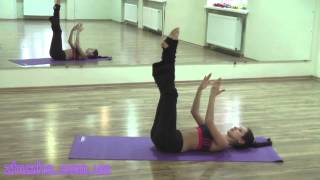 Упражнения пилатес для начинающих. Урок №2 СТ RAKASSA