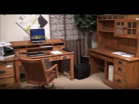 Sedona Oak Office Desk Set by Sunny Designs