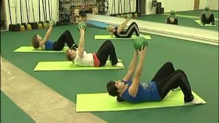 Смотреть онлайн Небольшой комплекс бодифлекс на основные группы мышц