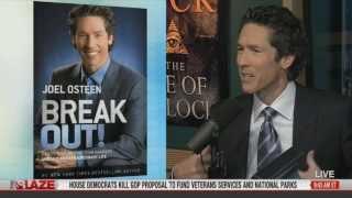 "Joel Osteen on air w Glenn Beck discussing his book ""Break Out! 5 Keys..."""