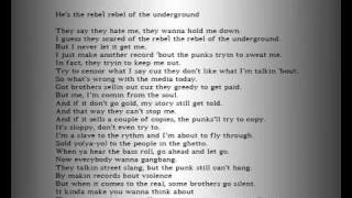 2pac-Rebel of the Underground