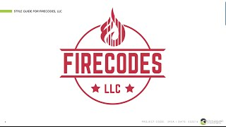 BRAND IDENTITY: Logo Design And Style Guide For FireCodes