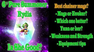 FF BE 6 stars Pure Summoner Rydia Review: Pure not Poor!!(#430)
