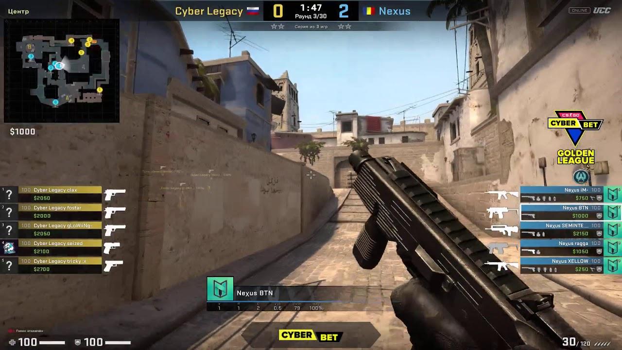 Cyber Legacy vs Nexus Gaming - Cyber Bet Golden League                                                                     Round 1 - CS:GO