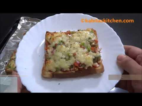 Bread Pizza Recipe | Quick and Easy Bread Pizza | Bread Pizza Recipe by kabitaskitchen Screenshot 4