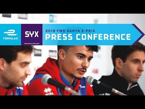 Pre-Race Press Conference - 2019 FWD Sanya E-Prix | ABB FIA Formula E Championship