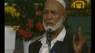 Is Jesus God Sheikh Ahmed Deedat and Pastor Stanley Sjoberg