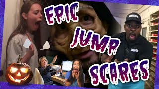 EPIC JUMPSCARES!! #4 (Halloween Edition) | TRY NOT TO LAUGH 2018