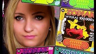 Zdrapki#71 Super WYGRANA w super ZODIAKCH!!! Konkurs!!! ♥|Doriska90|♥