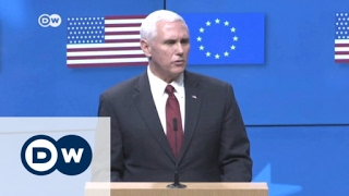 Pence visits EU headquarters | DW News