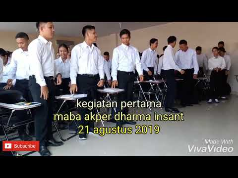 mahasiswa baru angkatan 20 tahun 2019/2020 kegiatan pertama akper dharma insant pontianak