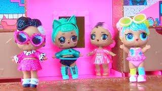 Куклы Лол Мультик! Конкурс Блестящих  Сюрпризов Лол! Lol Surprise Glam Glitter Видео для детей