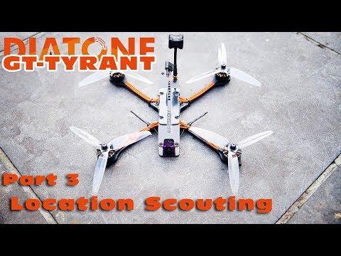 FPV testflying the Diatone 2018 GT-Tyrant Freestyle quad :)