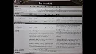 Abominant Rules Leak! - Genestealer Cult - Warhammer 40K 8th Edition