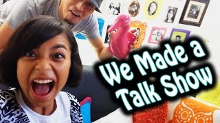 We Made A Talk Show : VLOG IT // GEM Sisters