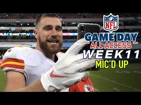 """NFL Week 11 Mic'd Up, """"I like that boy!"""" 