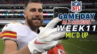 """NFL Week 11 Mic'd Up, """"I like that boy!""""   Game Day All Access"""