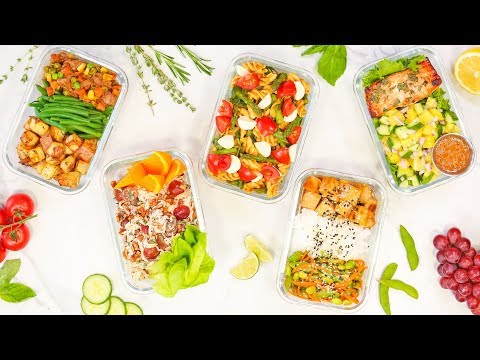 Week 3 | 5 Healthy Back-To-School MEAL PREP Recipes 2018