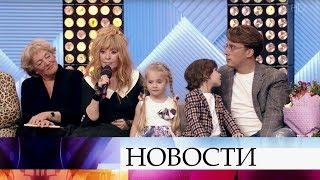 """Алла Пугачева в программе """"Пусть говорят"""" и большое интервью Примадонны после программы """"Время""""."""