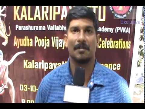 Kalaripayattu Krishnaprathap Ayudha pooja Vijayadhsami Celebrations 03-10-2014