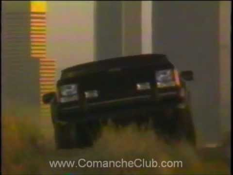 Screenshot of 1989 Jeep Cherokee Commercial