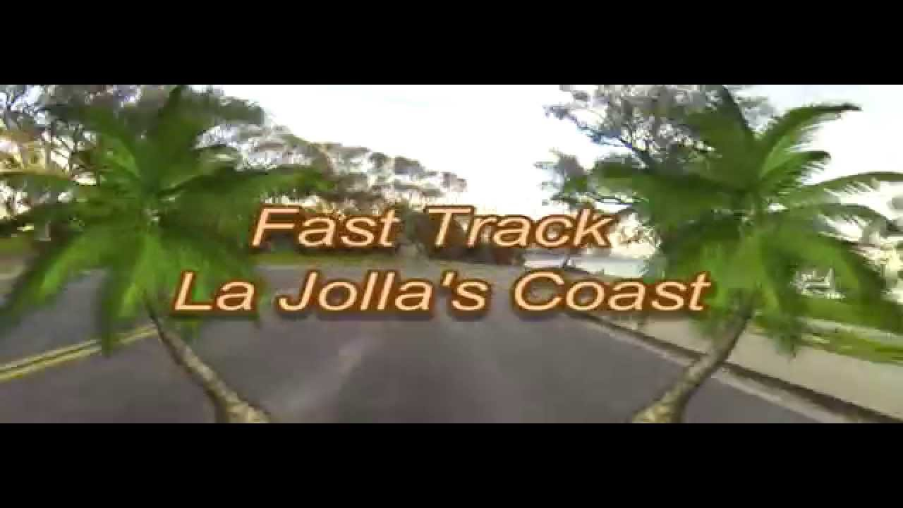 Driving La Jolla Beaches and Coast