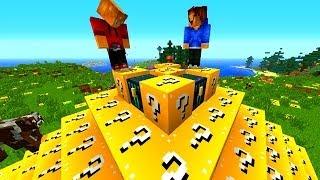 Minecraft LUCKY BLOCK BATTLE ARENA #3 with Vikkstar, BajanCanadian, Woofless & Lachlan