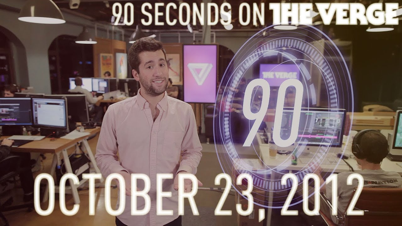 iPad mini and a brand new Mac lineup - 90 Seconds on The Verge: Tuesday, October 23, 2012 thumbnail