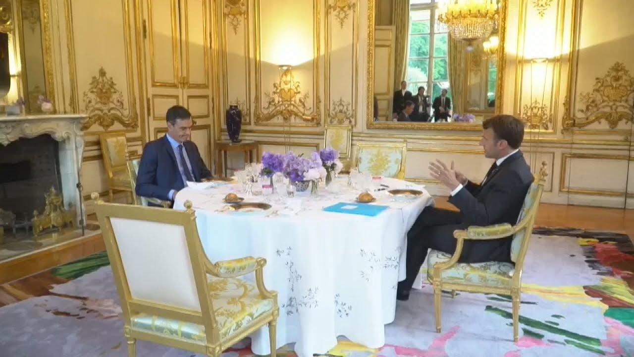 Συνάντηση Μακρόν – Σάντσεθ, στο Παρίσι
