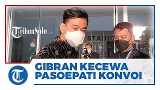 Suporter Persis Solo Diamankan Polisi karena Konvoi, Gibran Kecewa