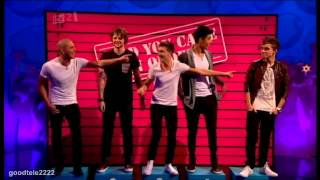Glad You Came In Order - Celebrity Juice: The Wanted Special