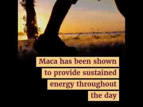 Maca Provides Natural Energy... Better Than Coffee!