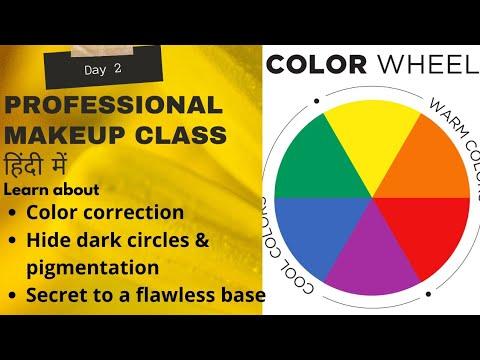 PROFESSIONAL MAKEUP COURSE 2|HOW TO COVER DARK CIRCLE LIKE PRO|Secrets Of Professional Base|Pratibha