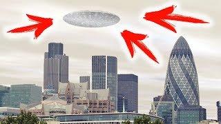 ШОК: НЛО СУЩЕСТВУЕТ! ЛЕТАЮЩАЯ ТАРЕЛКА - ВИДЕО 2018 HD (UFO)