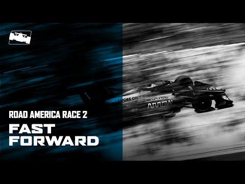 インディカー 第3戦 ロード・アメリカ レース2 30分ハイライト動画