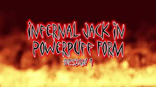 Speed Drawing Videos - Infernal Jack in Powerpuff Form (Design 1) | FPV's Cartooniverse!